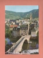 CPM..( Dépt 48 )..MENDE : Pont Notre Dame Et Clocher De La Cathédrale : Scan A  :  Voir Les 2 Scans - Mende