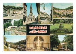 CP, 88, PLOMBIERES-les-BAINS, Multivues, Ecrite - Plombieres Les Bains