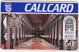 Ireland Old Phonecard - Trinity 400 - 50 Units - Irlanda