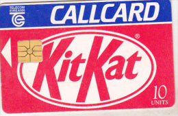 Ireland Old Phonecard - Kit Kat - 10 Units - Irlanda