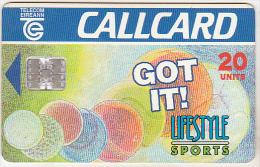 Ireland Old Phonecard - Lifestyle Sports - 20 Units - Irlanda