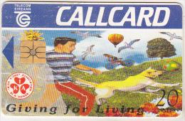 Ireland Old Phonecard - Giving For Living - 20 Units - Irlanda