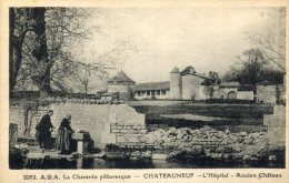 CHATEAUNEUF(CHARENTE) HOPITAL(LAVEUSE) - Chateauneuf Sur Charente