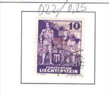 Liechtenstein 1937/41.Official. Scott O/22 See Scan - Usati