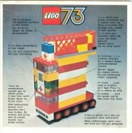 LEGO 73 - L'AMBULANCE - LEGO DUPLO - LEGOLAND - GROS CAMIONS - BATEAUX - TRAINS - ENGRENAGES, Etc... Catalogue (1973) - Catalogs