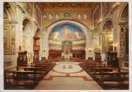 Roma , Interno Della Basilica Dei SS. Cosma E Damiano - Eglises Et Cathédrales