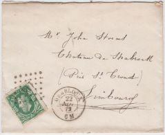 02174a Gembloux 1872 LOS Pts 144  TP30 V. St.Trond - Postmarks - Points