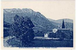 Buis Les Baronnies, La Fontaine D'Annibal - Buis-les-Baronnies