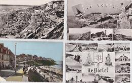 14 / 1 / 143 -lot  DE  9  CPA  &  CPSM  DU  PORTEL  - Toutes Scanées - Cartoline