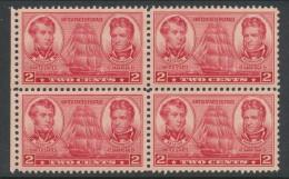 USA 1937 Scott 791, Block Of 4, MH (*) - United States