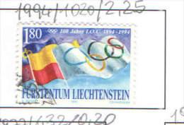 Liechtenstein 1994  Olimpics.. Scott 1020 See Scan - Liechtenstein