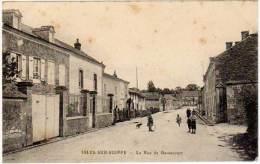 Isles Sur Suippe - La Rue De Bazancourt - France