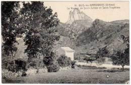 Buis Les Baronnies - Le Rocher De St-Julien Et Saint-Trophime - Buis-les-Baronnies