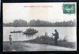 78 ROSNY SUR SEINE  PAYSAGE PRES LE  BAC  ANIMEE CLICHE UNIQUE - Rosny Sur Seine