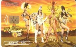 TARJETA DE MEXICO DE CERVEZA SOL  (BEER) CARNAVAL 2009 - Publicidad