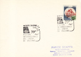 1986 Italia Salerno Cinema Film International Festival - Cinema