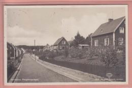 OLD POSTCARD SWEDEN KARLSHAMN PENGABERGSVAGEN - Zweden