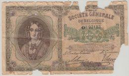 B00356 100 Francs Société Générale 06/11/16 NBBB-56 Good - [ 3] German Occupation Of Belgium