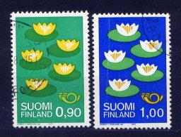 Finnland Nr.803/4        O  Used       (089) - Oblitérés