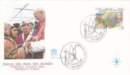 Pope John Paul II - Visit: 1987 World Travels Trinidad & Tobago (G54-15) - Päpste