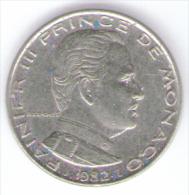MONACO 1 FRANC 1982 - Monaco