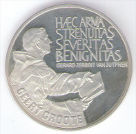 PAESI BASSI 25 ECU 1990 AG - [ 3] 1815-… : Regno Dei Paesi Bassi
