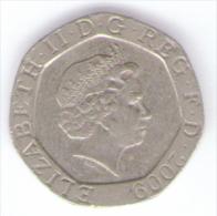 GRAN BRETAGNA 20 PENCE 2009 - 1971-… : Monete Decimali