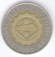 FILIPPINE 10 PISO 2005 BIMETALLICA - Filippine