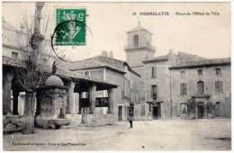 Pierrelatte - Place De L'Hôtel De Ville - France