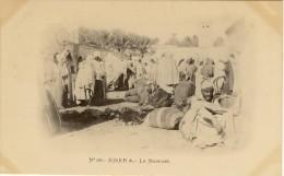Biskra  Le Marché  A. Vollenweider N°68  Scans Recto-verso - Biskra