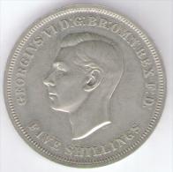 GREAT BRITAIN / GRAN BRETAGNA - George  VI - 1 CROWN / 5 SHILLINGS ( 1951 ) - 1902-1971 : Monete Post-Vittoriane