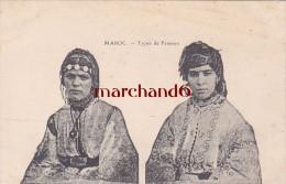 Maroc Types De Femmes éditeur Lebrun - Sonstige