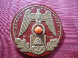 NSDAP  Ausburg 15 Nov 1937 - 1939-45