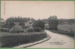 94 VILLECRESNES - La Route De Mandres - Villecresnes