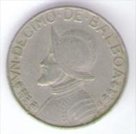 PANAMA 1/10 DI BALBOA 1966 - Panama