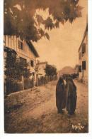 BANCA - La Sortie De La Messe - Ramuntcho - Circulée En 1942 - Autres Communes