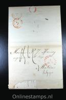 Nederland 1849 Complete Brief Oirschot Via Den Bosch Naar Malines (B) - Niederlande