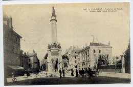 CHAMBERY-- Fontaine De Boigne (éléphants), La Poste Et La Caisse D'Epargne (attelage) --animée--n° 637 éd CER- - Chambery