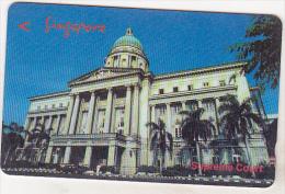 Singapore Old Phonecard - Supreme Court - 134SIGC - 10 $ - Singapour