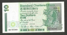 [NC] HONG KONG - STANDARD CHARTERED BANK - 10 DOLLARS (1993) - Hong Kong