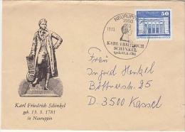 East Germany, DDR, Registered Cover, Stamps,    (Z-1408) - DDR
