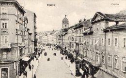 [DC6854] FIUME - CROAZIA - CORSO - Viaggiata 1918 - Old Postcard - Croazia