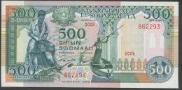 SOMALIA  P36a  500   SHILIN   1989     UNC. - Somalia