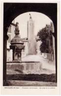 Mollans - Fontaine Historique - Le Pont Et Le Beffroi - France