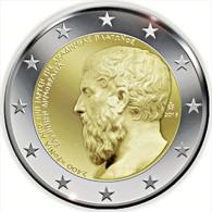 "** 2 EUROS COMMEMORATIVE "" Academie ""GRECE 2013 PIECE NEUVE ** - Grecia"