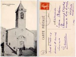 Montbrun Les Bains - L'église - France