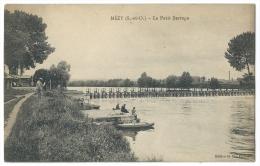 MEZY (Yvelines, Anciennement Seine Et Oise) - Le Petit Barrage - Animée - Pêcheurs - Les Mureaux