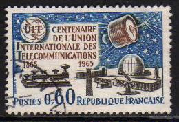 FRANCE : N° 1451 Oblitéré (Union Internationale Des Télécommunications) - PRIX FIXE - - Frankreich