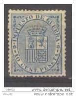 ES142-L2807TESSC.España.S Pain.Espagne.ESCUDO  DE ESPAÑA.Impuesto De Guerra.1874. (Ed 142*) . MUY BONITO - Sellos