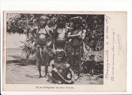 ANGOLA (ou Congo) - Indigènes De Race Pandé / Edition Adolphe Trinchant à Toulouse - Angola